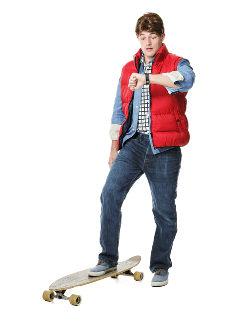 adults and kids back to the future costumes   doc and