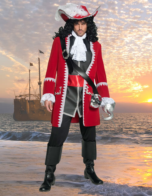 Captain Hook Costume for Men
