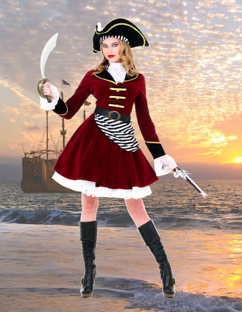 Sexy Captain Hook Costume
