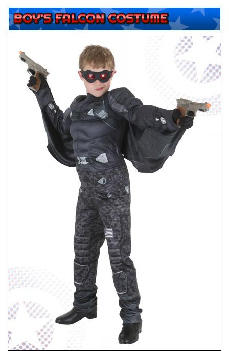 kids falcon costume
