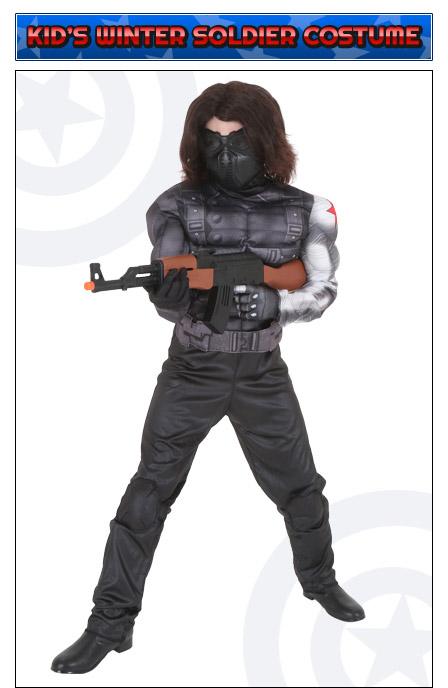 Kids Winter Soldier Costume