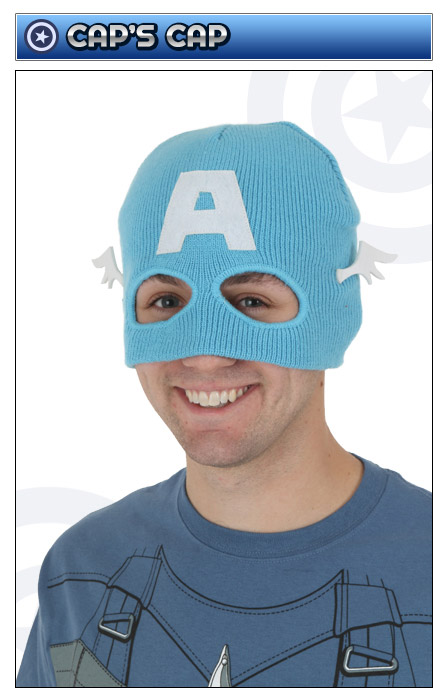 Captain America Headpiece