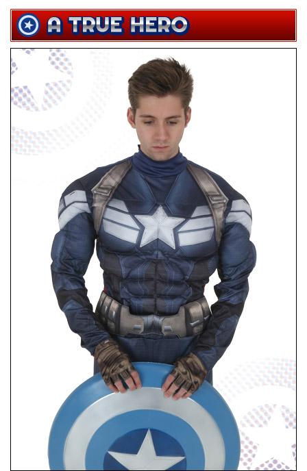 Captain America Hero Pose