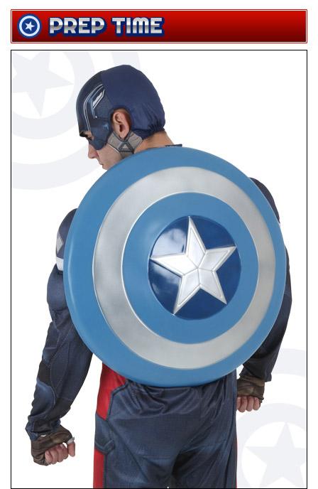 Captain America Prep Time