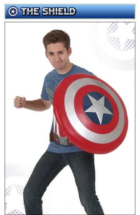 Captain America Shield  sc 1 st  Halloween Costumes & Captain America Costumes - Adult Kids Woman Captain America Costume