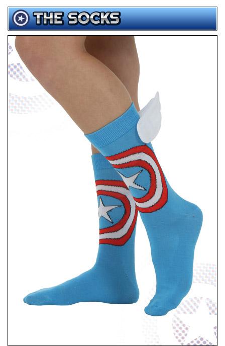 Captain America Socks