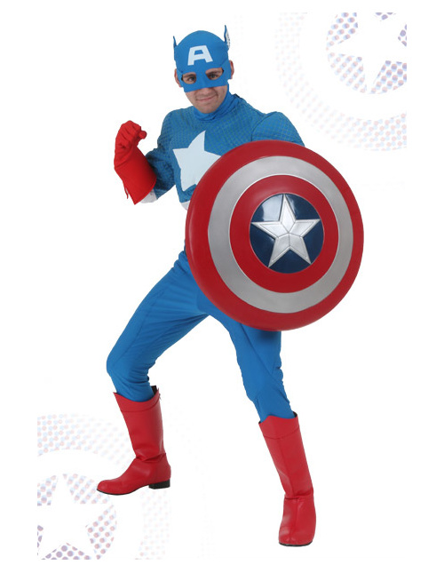 Captain American Classic Comics Costume