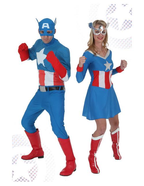 Classic Captain America Costumes