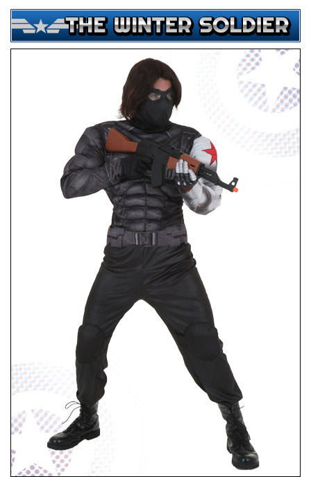 Captain America Winter Soldier Costume
