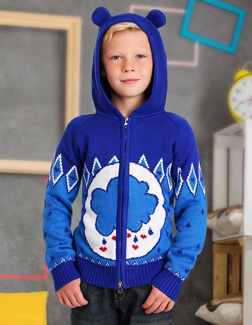 Boys' Grumpy Bear Sweater