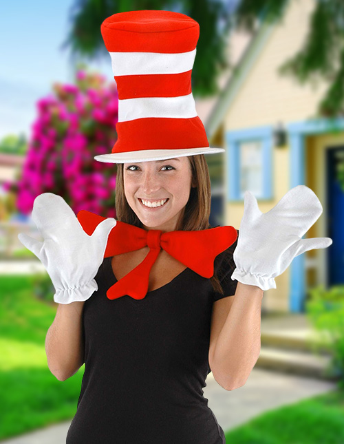 Cat in the Hat Halloween Costume