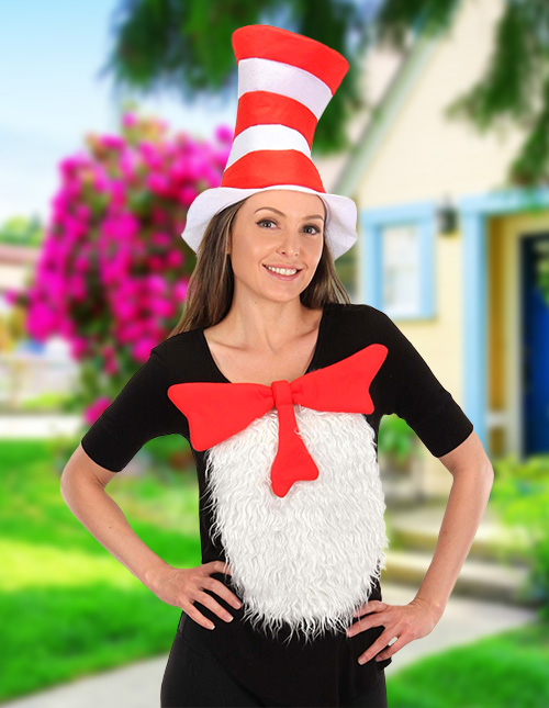 Womens Cat in the Hat Costume
