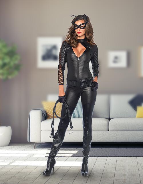 Sexy Cat Halloween Costume