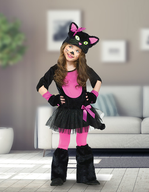 Toddler Kitty Costume