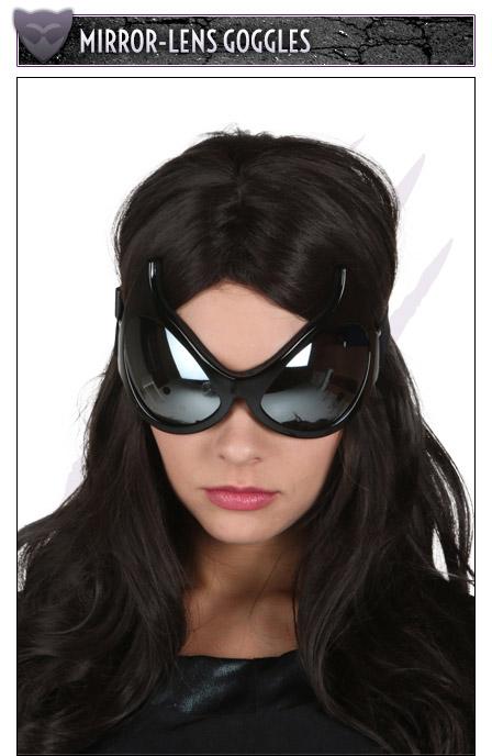 Mirror-Lens Goggles