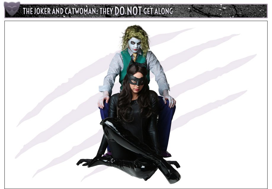 The Joker and Catwoman