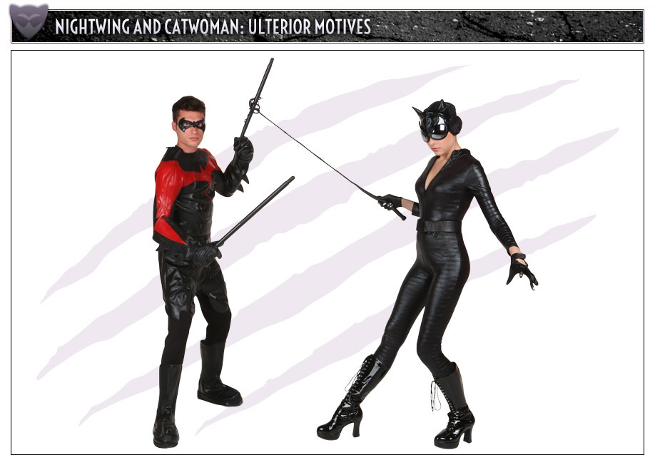 Nightwing and Catwoman