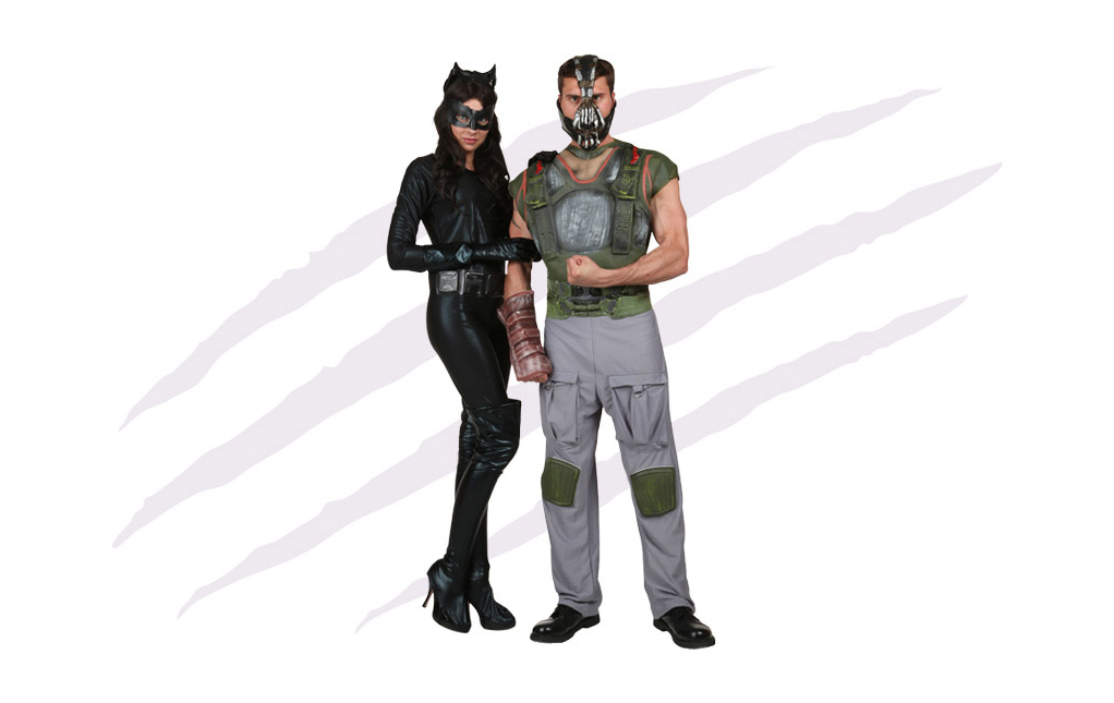 Catwoman and Bane