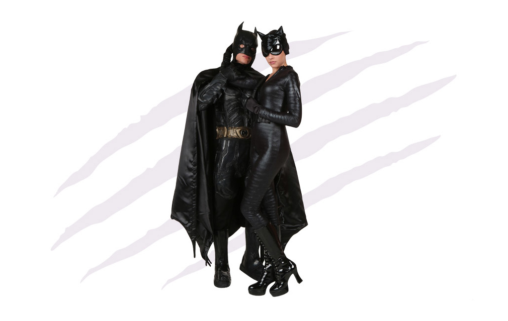 Dark Knight Catwoman and Batman Costumes