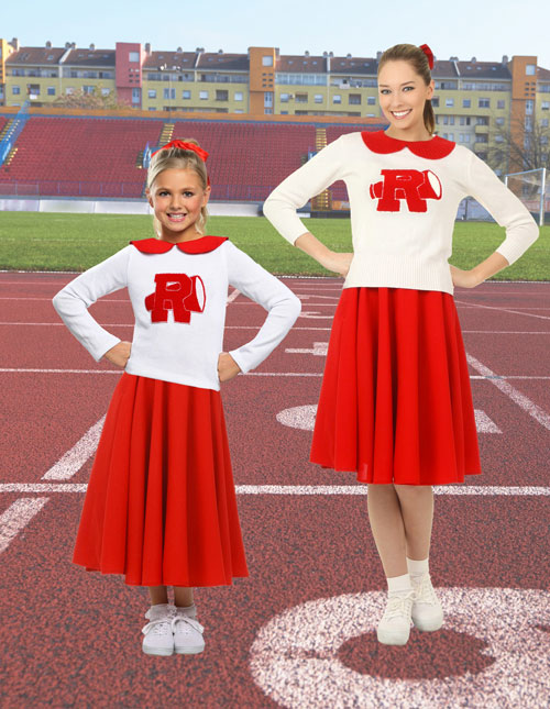 Rydell High Cheerleader Costumes