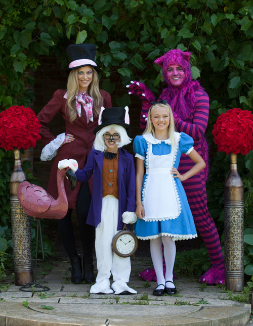 All Alice in Wonderland