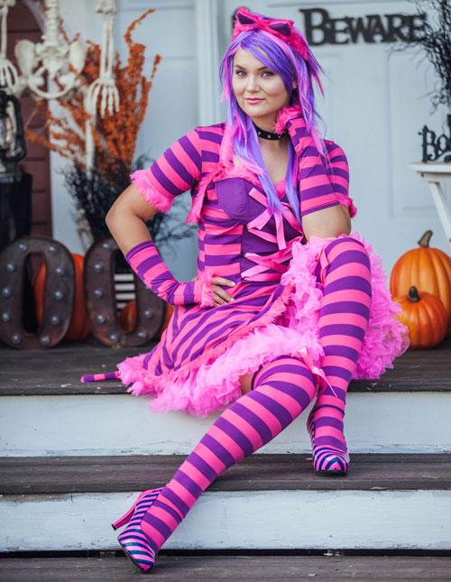 Halloween Costume How-to: Cheshire Cat