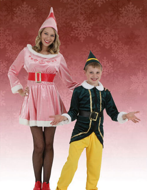 Elf Costumes for Kids and Adults