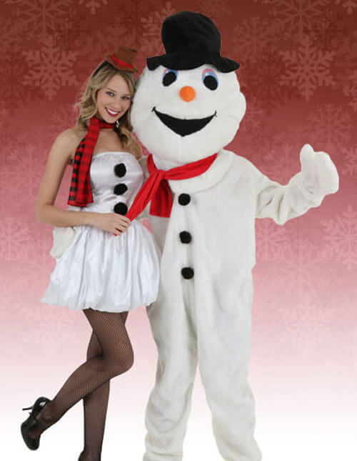 Snowman Costumes for Men and Women