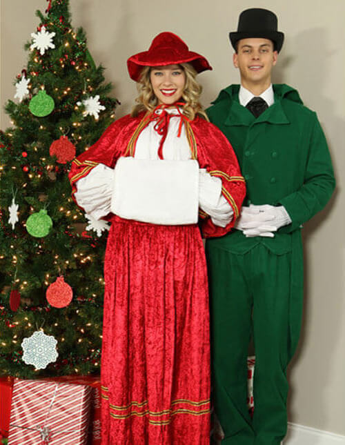 Victorian Christmas Costumes