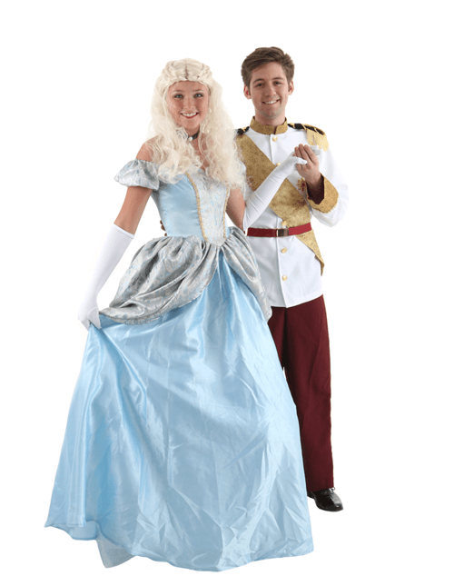 Cinderella and Elite Prince Couple Costumes