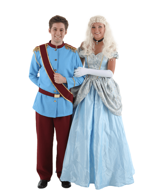 Cinderella and Prince Charming Couple Costumes