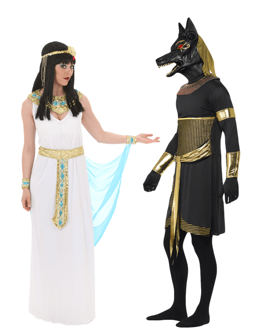 Cleopatra and Anubis Couples Costumes