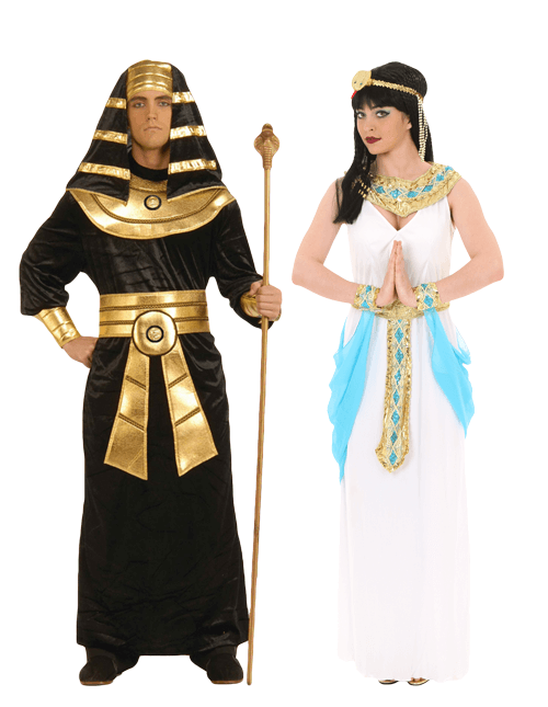 Cleopatra and the Pharaoh Couples Costume