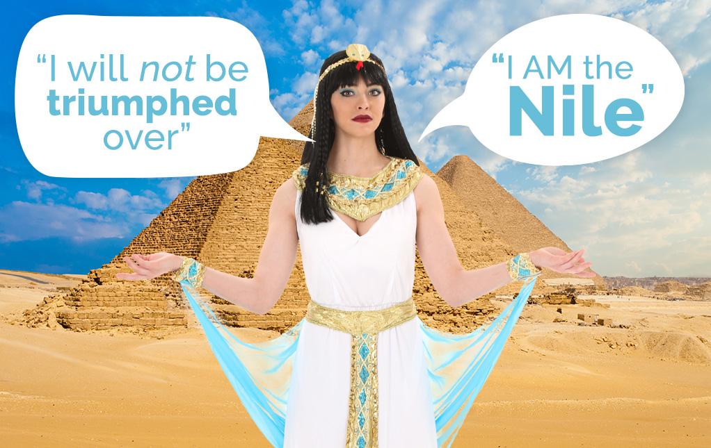 Cleopatra Quotes
