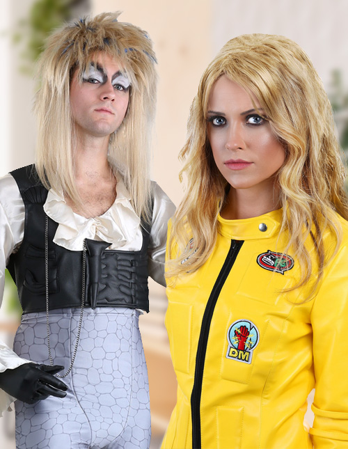 Blonde Wig Costumes