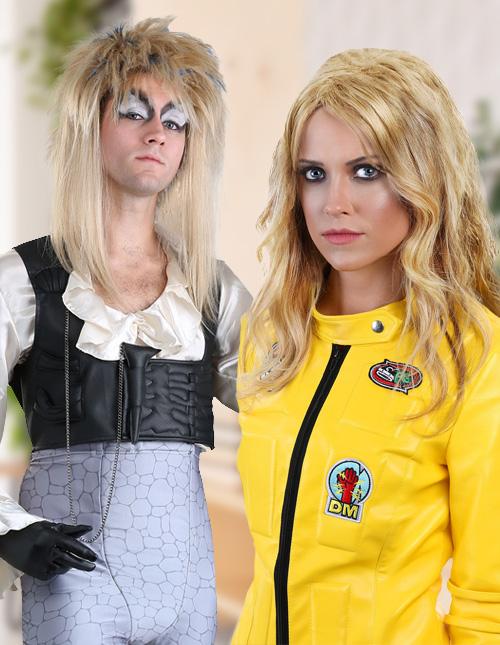 Blonde Wig Costumes