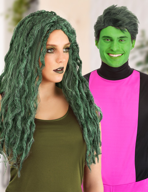 Green Wig Costumes