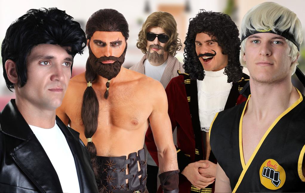 Men's Costume Wigs