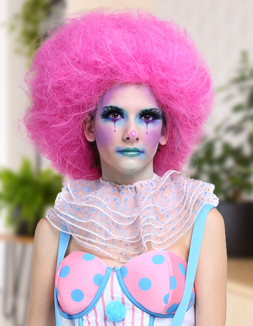 Pink Wig Costumes