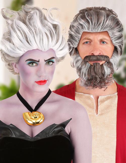 Grey Wig Costumes