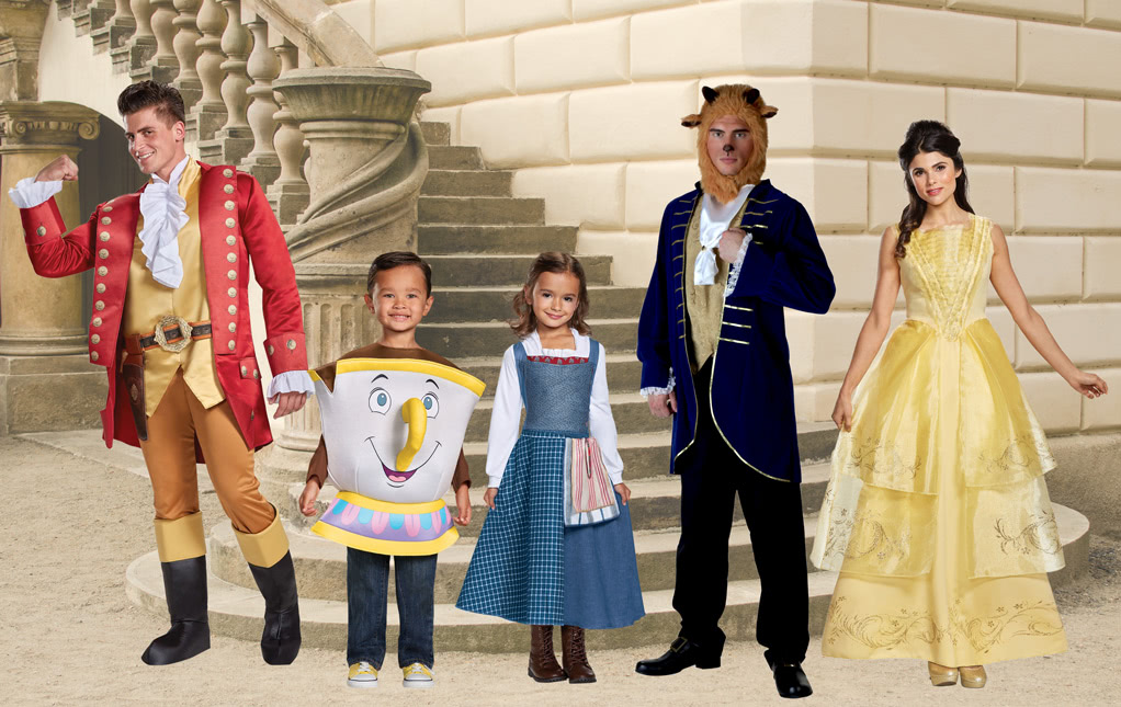Halloween costumes 2018 beauty and the beast costumes solutioingenieria Gallery
