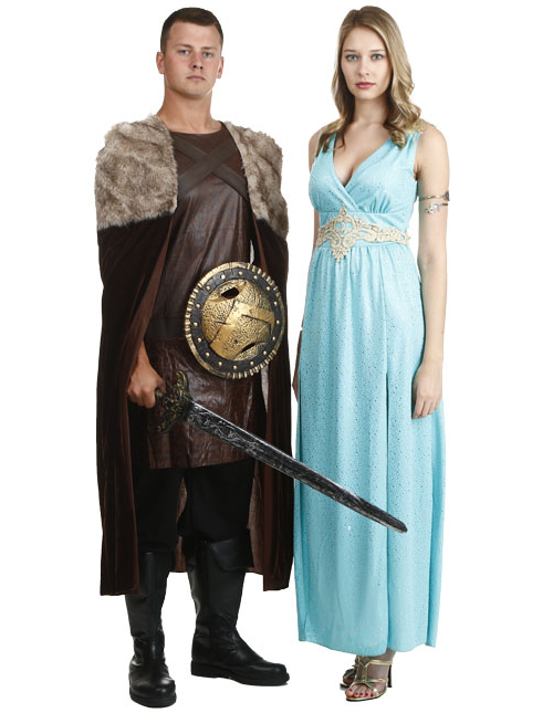 Renaissance Themed Couples Costumes