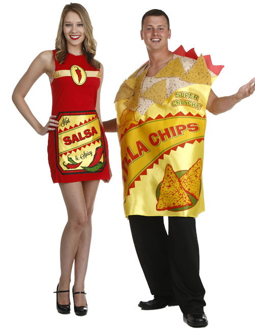 Chips and Salsa Couples Costumes