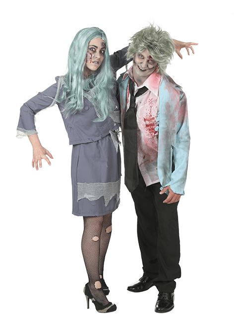 Zombie Couples Costumes