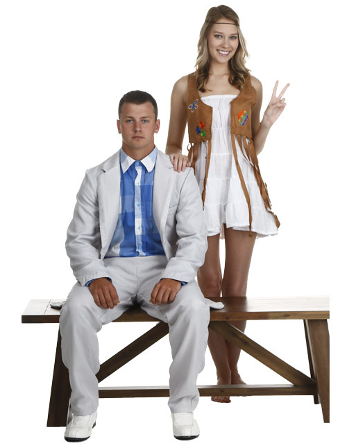 Forrest and Jenny Couples Costumes