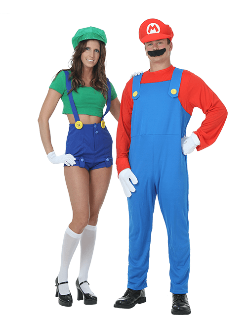 Mario Couples Costumes