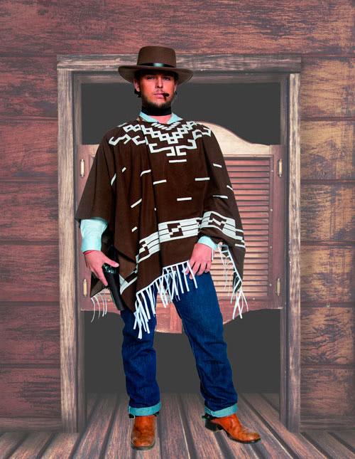 Cowboy Poncho
