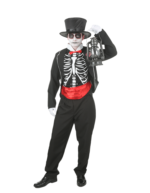 Lantern Day of the Dead Pose