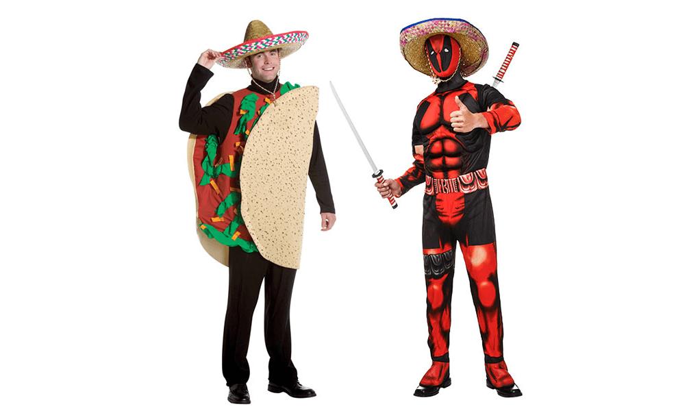 Taco Twosome Deadpool Couples Costume