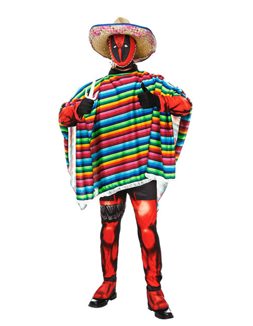 Deadpool Here for Tacos Pose